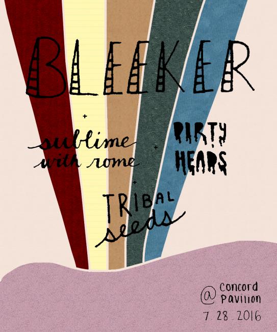 Bleeker Show Poster